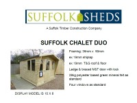 Suffolk Chalet Duo Price List