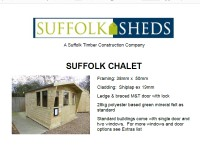 Suffolk Chalet Price List